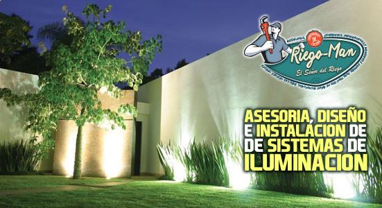 Servicio de Iluminación para jardines y areas verdes